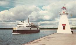 Prince Edward Island PEI Canada - M.V. Prince Nova Between Wood Islands & Caribou - Ferry Boat - 2 Scans - Ferries