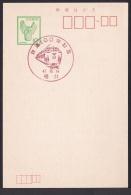 Japan Commemorative Postmark, Railroad 100th Aniversary Train 1972 (jc8591) - Japan