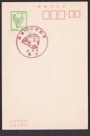 Japan Commemorative Postmark, Railroad 100th Aniversary Train 1972 (jc8614) - Japón