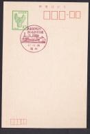 Japan Commemorative Postmark, Railroad 100th Aniversary SL Shinkansen (jc8615) - Japan