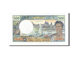 French Pacific Territories, 500 Francs, 1985-1996, KM:1b, Non Daté (1992), NEUF - Papeete (French Polynesia 1914-1985)