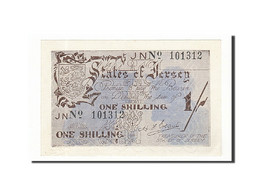 Jersey, 1 Shilling, 1941, KM:2a, Non Daté (1941-1942), SPL - Jersey