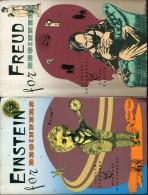 Lot 2 Livres D´humour Bd Anglais Einstein For Beginners & Freud For Beginners - Littéraire