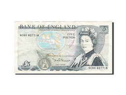 Grande-Bretagne, 5 Pounds, 1971-1982, KM:378c, 1980-1987, TTB+ - 1952-… : Elizabeth II