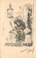 PUBLICITE LOTION LA BULBINE  DE CHEREAU - Pubblicitari