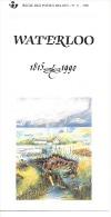 Feuillet  N° 11 De 1990 - Poste Belge - Belgium - Waterloo - Documents De La Poste