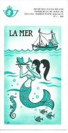 Feuillet N° 1 De 1988 - Poste Belge - Belgium - La Mer - Documents De La Poste