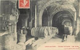 LISLE SUR TARN -Chateau De Saure, Les Caves. - Lisle Sur Tarn