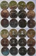 "Somalia 2000 Set Of 12 Coins 10 Shillings ""Chinese Zodiac "" UNC KM90~101 , Africa Coins - Somalia"