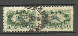 LITAUEN Lithuania 1927 Michel 278 In Pair O Klaipeda - Litauen