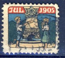 ##K2784. Denmark 1905. Christmas Seal. Used With Postmark. - Altri