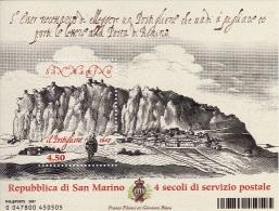 Saint-Marin 2007 - Bloc Service Postal Neuf** - Blocs-feuillets