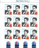 ESPAÑA, SPAIN, AÑO 1998, EDIFIL 3549, M.P. 59, FEDERICO GARCIA LORCA,  CATALOGO 11,00 EUROS - 1931-Aujourd'hui: II. République - ....Juan Carlos I