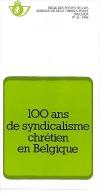 Feuillet N° 16 De 1986 - Poste Belge - Belgium - 100 Ans Du Syndicalisme Chrétien En Belgique - Documents De La Poste
