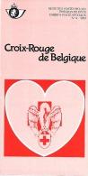 Feuillet N° 4 De 1985 - Poste Belge - Belgium - Croix Rouge De Belgique - Documents De La Poste