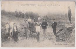 ROMANECHE THORINS : ABAISSEMENT DE LA MONTEE DES GUILLATES - 1910 - 2 SCANS - - Autres Communes