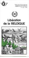 Feuillet N° 15bis De 1985 - Poste Belge - Belgium - Libération De La Belgique - Documents De La Poste