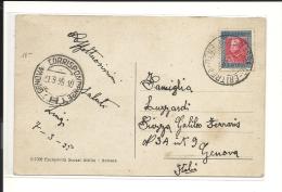 Carte  Erytrée 1935, Vue Du Port De Massaua  ( 322/23) - Erythrée