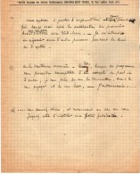VP3604 -Tabac - Lettre De La Société Anonyme Des Anciens Ets CHAVANNE - BRUN Frères  à PARIS Pour  Mr SCHLOESING - Documents