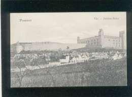 Pozsony Var Schloss Ruine édit. Pressburger's  Bediene Dich Allein  Venturgasse 5-7 - Slovacchia
