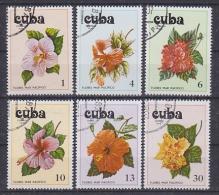 Cuba 1978 Orchids 6v Used (SB101F)) - Cuba