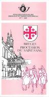 Feuillet N° 7 De 1983 - Poste Belge - Belgium - Bruges Procession Du Saint-Sang - Documents De La Poste