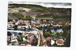 CPSM 25 - QUINGEY - Vue Générale - Très Jolie Vue D'ensemble Du Village Et De L'intérieur Avec Détails - France