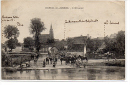 Somme : Dreuil Les Amiens : L'abreuvoir - Frankreich