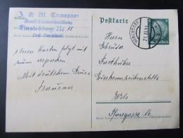GANZSACHE Vorchdorf Einsiedling Trausner  - Wels 1941  /// D*19808 - Deutschland