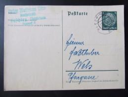 GANZSACHE Pasching - Wels Fa. Anton Wolfram   /// D*19809 - Deutschland