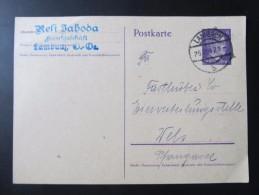 GANZSACHE Lambach - Wels 1942 Fa. Resi Jahoda   /// D*19810 - Deutschland
