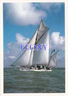 """CPM  """" VOILIER Au LARGE De LA ROCHELLE N° 1724 - Sailing Vessels"""