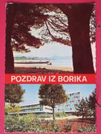 Carte Très Peu Courante - Yougoslavie - Pozdrav Iz Borika - Zadar - Joli Timbre - Scans Recto-verso - Yougoslavie