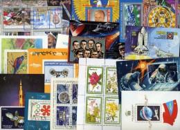 Lot De 108 Blocs Feuillets Différents Du Monde - Collezioni (senza Album)