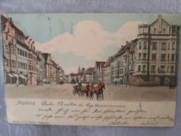AUGSBURG . MAXIMILIANSTRASSE . DOS 1900 - Augsburg