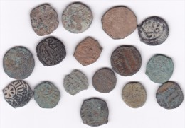 Lot De Monnaies Antiques Moyen Orient à Identifier 16 Ex. - Lots