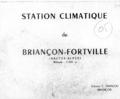 Dépliant  Sur BRIANCON - - Briancon