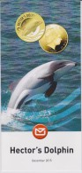 New Zealand 2015 Brochure About Hector's Dolphin Coin - Materiaal