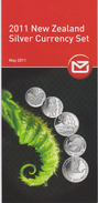 New Zealand 2011 Silver Currency Set - Materiaal