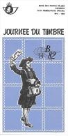 Feuillet N° 6 De 1982 - Poste Belge - Belgium - Journée Du Timbre - Documents De La Poste
