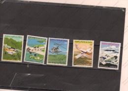 PAPUA  NEW GUINEA Nº 412 Al 416 - Avions