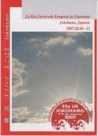 Esperanto 1st Bulletin Congress 2008 Yokohama - Unua Bulteno Universala Kongreso 2008 Jokohamo - Oude Boeken