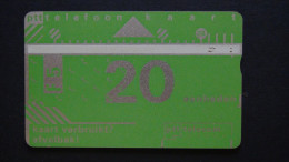 Netherlands - 1990 - F 5 / 20U - KPN - CN:101E - Bie:D015B - Used - Look Scan - öffentlich