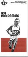Feuillet N° 7bis De 1980 - Poste Belge - Belgium - Ivo Van Damme - Documents De La Poste