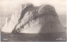 "1931 - Norway - Norvège Spitzberg    "" Isbjerg Iceberg ""  (  Vers Strasbourg Neudorf ) - Norwegen"