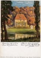 Künstler AK H. Stadelmann - Goethes Gartenhaus - Karte Nicht Gel. - Künstlerkarten