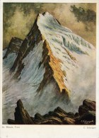 Künstler AK C.Schwigell - Grosser Mösele, Zillertaler Alpen,Tirol Karte Gebr. - Künstlerkarten
