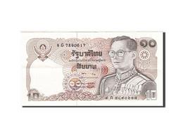 Thaïlande, 10 Baht, 1978-1981, KM:87, 1980, TTB+ - Thailand