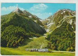CPSM LUCHON OU BAGNERES DE LUCHON (Haute Garonnr) - HOSPICE DE FRANCE : Vue Sur Le Poet De Vénasque 2445 M - Luchon