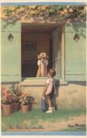 REDON - Carte éditée Par Le Comité National Des Colonies De Vacances - ( Série 1939 ) N° 10 - Un Brin De Causette - Redon